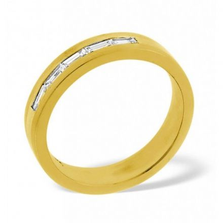 18K Gold 0.22ct H/si Diamond Wedding Band, WB06-22HSY